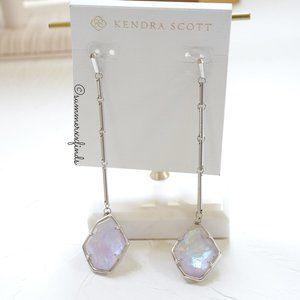 Kendra Scott Charmian Drop Earrings in Amethyst